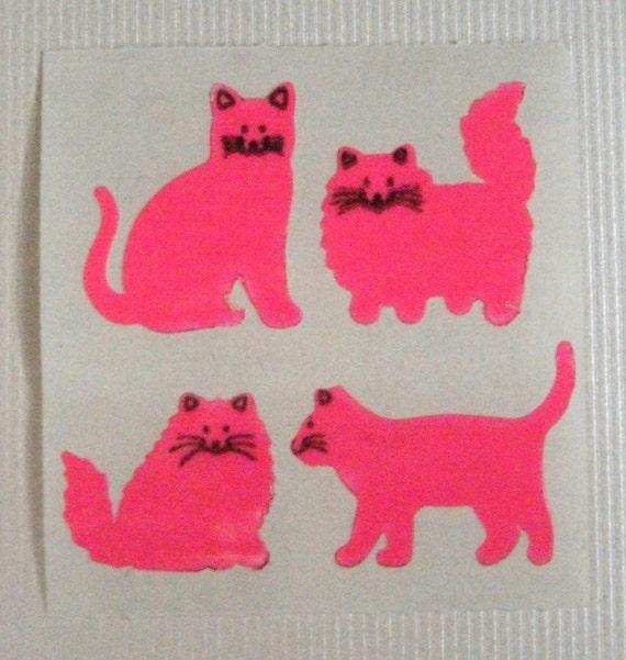 Sandylion Vintage Neon Cats Mod