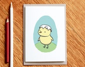Hatch - birthday card, baby card
