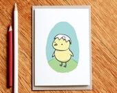 Hatch - birthday card, baby card