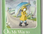On My Way To Grandpa's, written & illustrated by Ann Schweninger, Vintage Hardcover Book, 1981