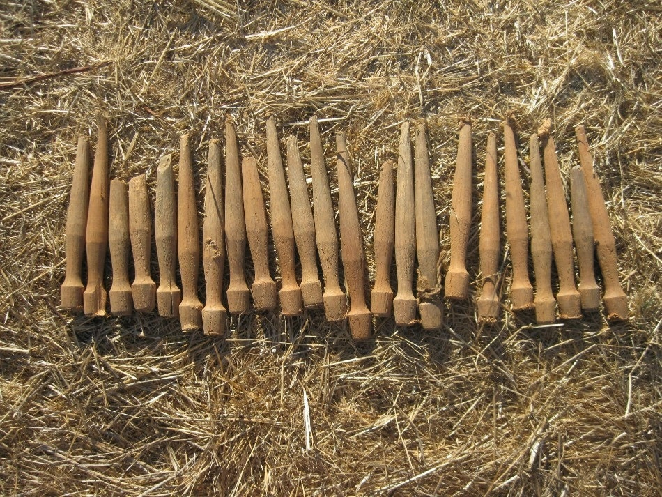 Ww2 Wooden Tent Stakes Pegs