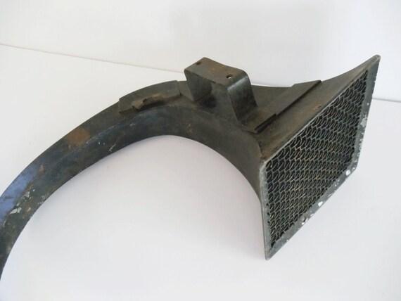 Antique Phonograph Horn - Assemblage - Refurbish - Primitive - Unique - iPhone Speaker Dock