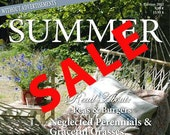 Jeanne d' Arc Living -Summer 2012 SALE  Issue .Beautiful French Nordic inspirations for your Crafts, Home & Garden.