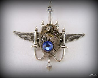 Steampunk Jewelry, Gift for Her, Steampunk Necklace, Handmade Jewelry, Womens Necklace