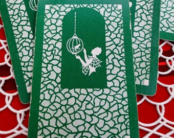 6 The Birdcage Vintage Playing Cards