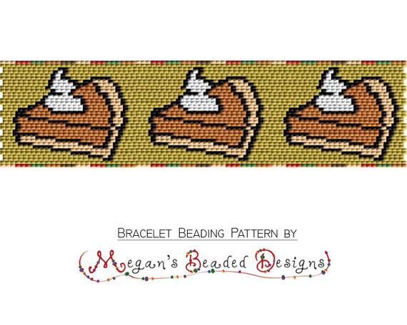 Pumpkin pie bracelet pattern