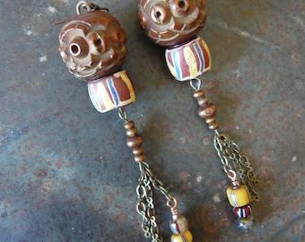 Rosaritaville's Sacred Dancer Earrings