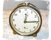 RARE Vintage Mauthe Art Deco Alarm Clock German Made