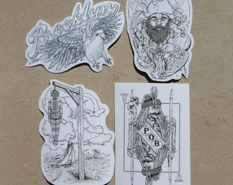 Sticker Pack - Pirates and Tyrants