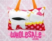 WHOLESALE Tooth Fairy Pillows- 12 Total
