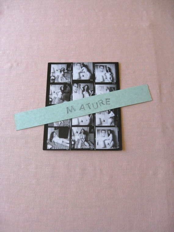 "SIXTIES Nude Contact Sheet  Woman With Paul Newman Poster Erotic Explicit Photos 8 1/2""  x 11"" Sex Sexual Natural"