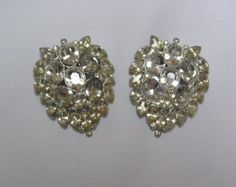 Vintage Rhinestone Dress wedding dress clips