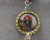 1 x Brave Keyring with Lobster Swivel Clasp - Ideal to clip onto School Bag