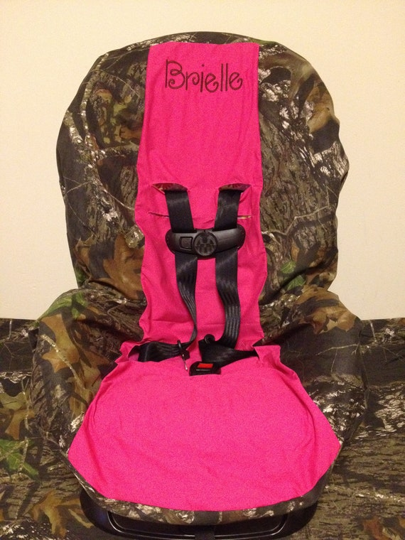 Items Similar To Pink Toddler Car Seat Cover Mossy Oak