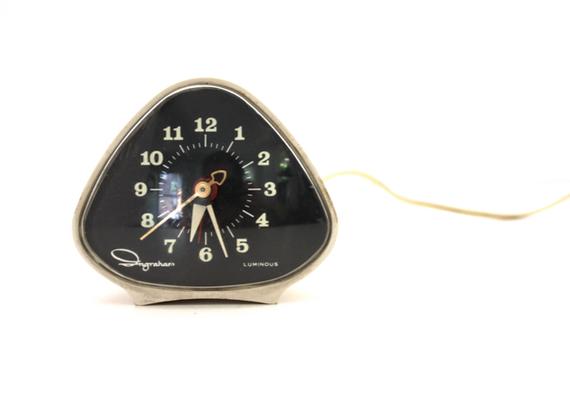 Vintage ATOMIC Ingraham Alarm Clock