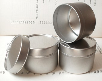 round tin with solid lids, 100ml round tin box, small storage (a se of 100 tins)