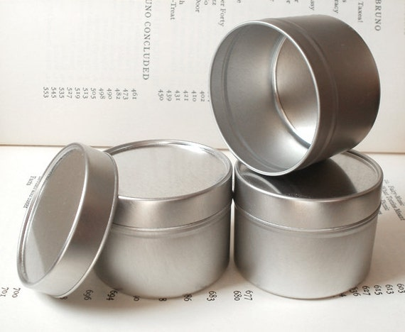 100ml round tin with solid lids small tin box small for Small tin containers