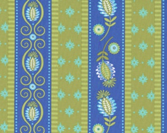 Sale - Michael Miller Fabric - Half Yard Gypsy Road in Periwinkle