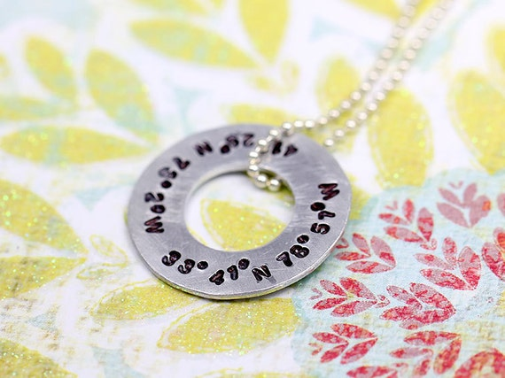 Coordinate washer Necklace