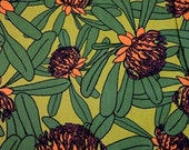 Waratah Blooms by Veritas Designs 1/4 metre   from Australia