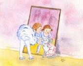 Dance Partners Original Illustration
