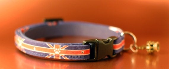 Union Jack Cat Collar
