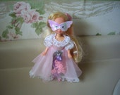 Vintage Lady Lovely Locks doll in her Masquerade Gown, 1987 toy