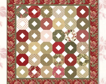 Trellis Quilt Pattern by Planted Seed Designs