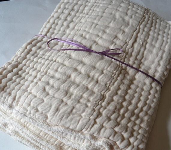 unbleached cotton Indian prefolds - one dozen - infant