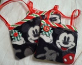 Christmas Gift Card Holders to hang on tree or anywhere - MIckey Mouse