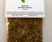 Agrimony (Agrimonia eupatoria) - Useful in incense, spells, magick, tea, dreams, and prophecy. Famous herb from folklore.