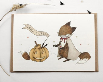 Trick or Treat - Greeting Card