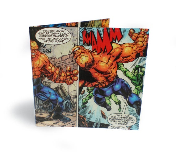 The Thing - Fantastic Four Wallet - Vinyl comic wallet