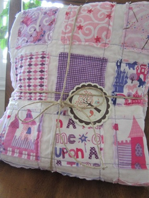 Once Upon A Time...........A Fray Edge Quilt