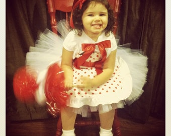 Get in time for HALLOWEEN! Shirley Temple Inspired Tutu Costume