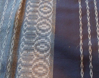 Hand Woven Wool Shawl, Shades of Gray, 84 x 38 Inches