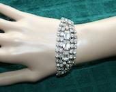 Rhinestone WOW Bracelet Glitz and Shine