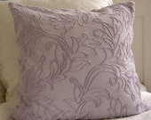 Violet Chenille Pillow Cover Bella Notte Fabric