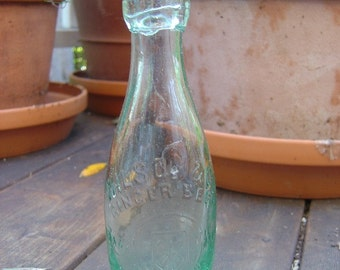 Vintage Ginger Beer Bottle