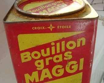 Maggi Bouillon Tin Vintage