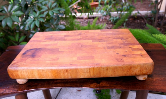 Large Vintage Cutting Board Or Chopping Block By