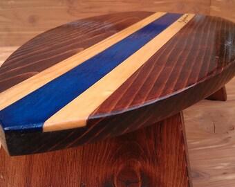 Custom Personalized Handmade Surfboard Step Stool