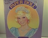 Princess Diana Paper Doll.  Princess Diana Collectible