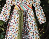 """The """"Falyn"""" fall twirly peasant dress - available sz 12 mo to 10"""