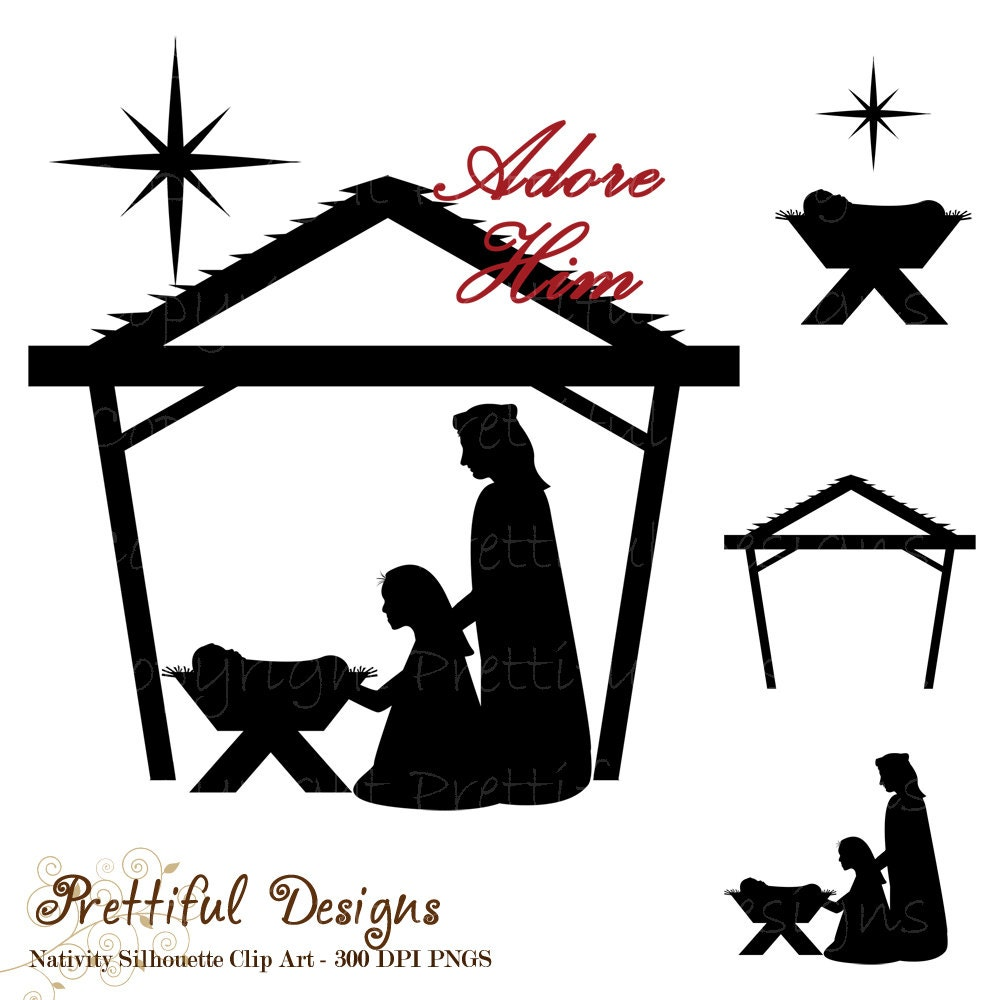 free clipart of baby jesus in a manger - photo #24