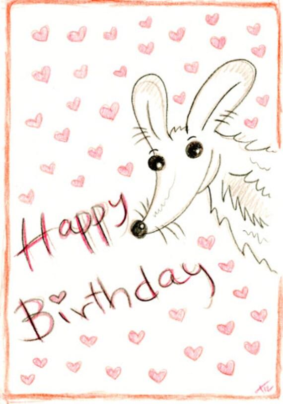 Greeting Card - Happy birthday nom