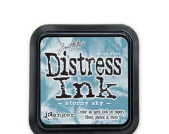 Tim Holtz Distress Ink Pad-Stormy Sky