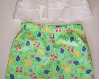 Colorful Print Baby Girl Capri Pant in Sz. M, L, and XL