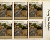 Oxford Road Bookplates - Instant Download, English Road bookplates