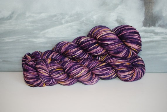 Pansy: Fama, See Me.   First-String SW Merino Fingering Wt Yarn 792